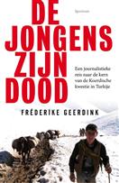 De cover van mijn boek 'De jongens zijn dood'.